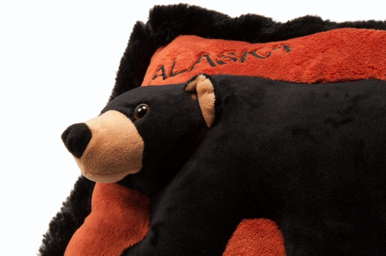 loveditinalaska.com | Wishpet Bear Pillow