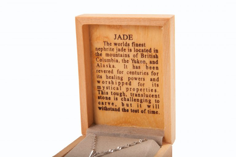 loveditinalaska.com | Jade World Whale's Tail Necklace-SS