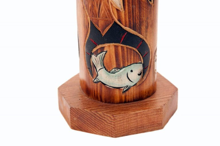 loveditinalaska.com | Eagle Boy Mantel Totem