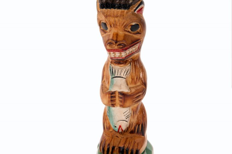 loveditinalaska.com | Spirit of Eagle Mantel Totem