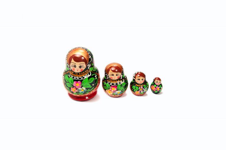 loveditinalaska.com | Nesting Doll 4 pc Set