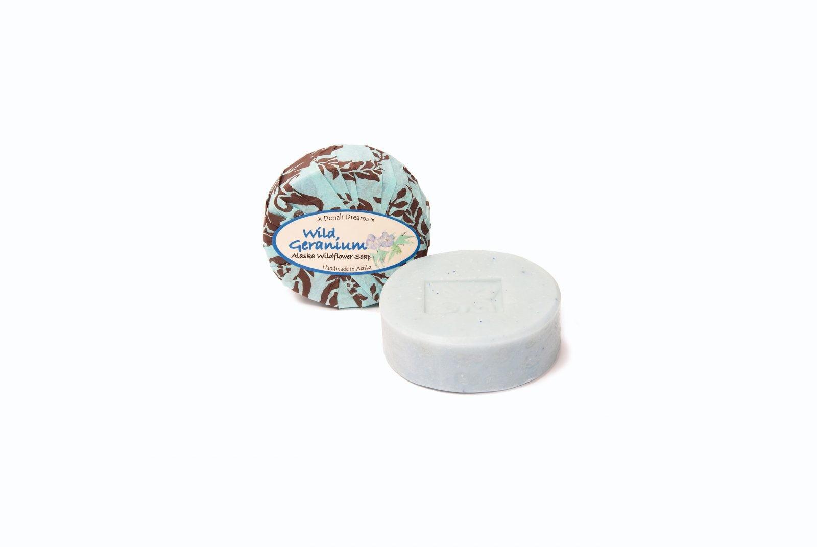 loveditinalaska.com   Wild Geranium Soap