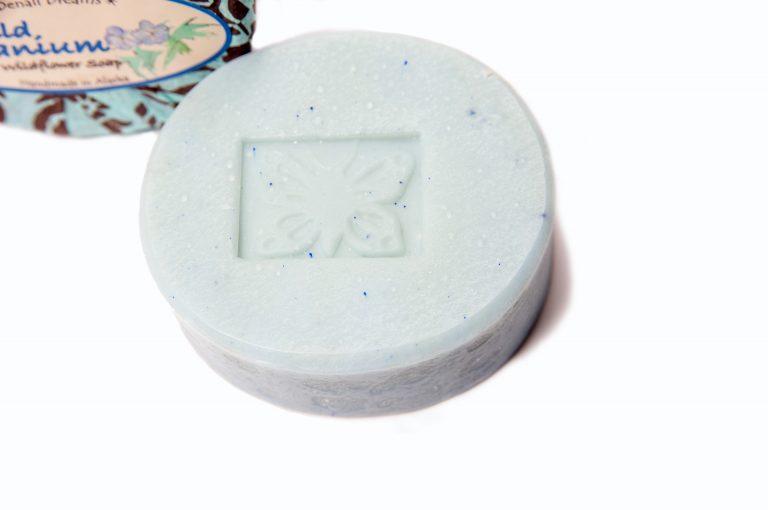 loveditinalaska.com | Wild Geranium Soap