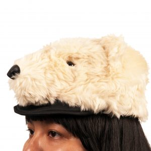 Polar Bear Plush Hat