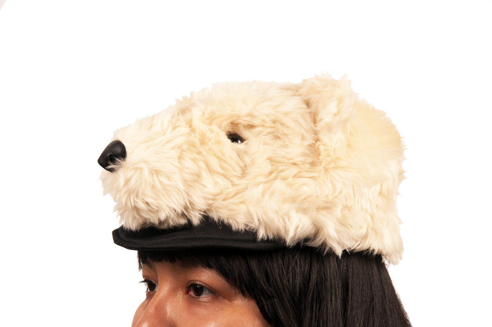 Polar Bear Plush Hat