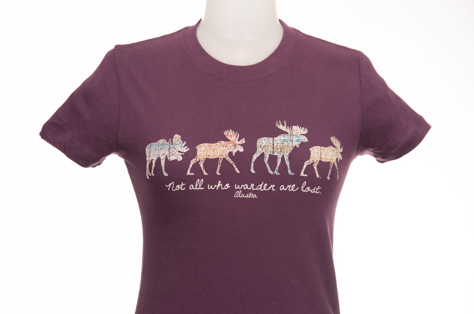 Tommy Design Wandering Moose T-Shirt