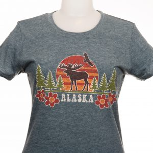 Tommy Design Sunset Moose T-Shirt