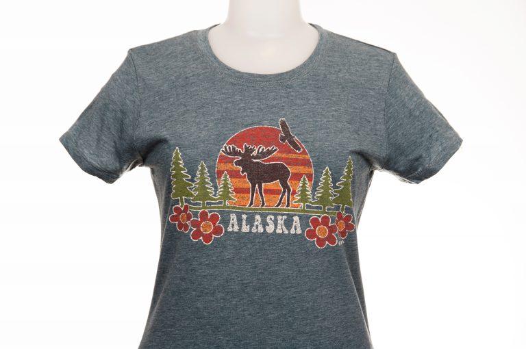 Tommy Design Sunset Moose T-Shirt