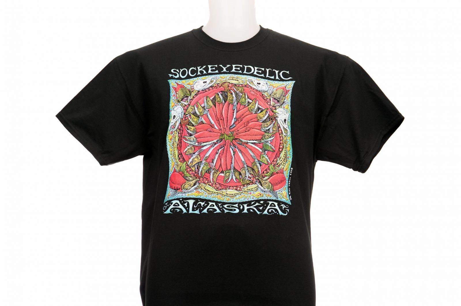 Sockeyedelic Alaska T-shirt