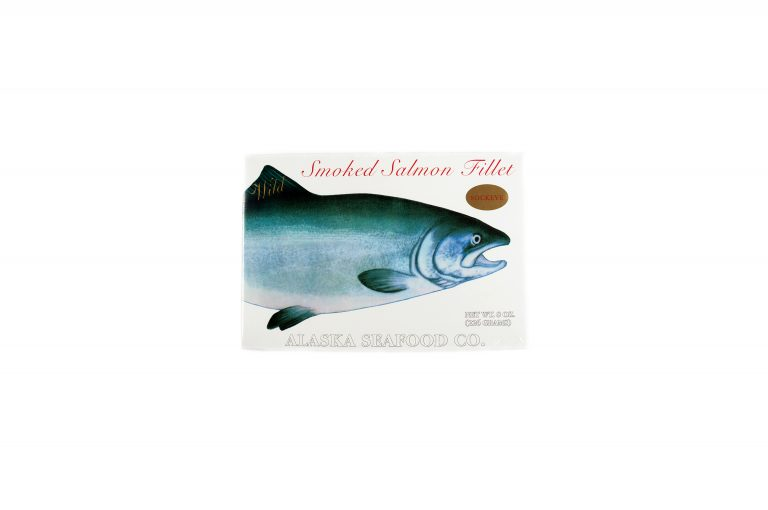 Smoked Salmon Filet-Sockeye-8 oz