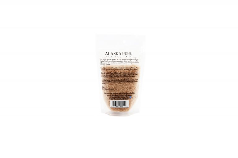 loveditinalaska.com | Alaska Pure Sea Salt-Alder Smoked-4 oz.