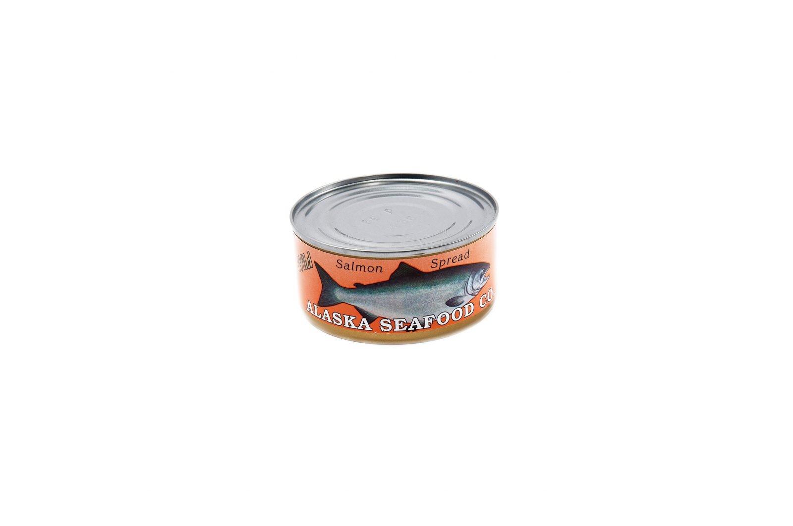 loveditinalaska.com | Alaska Seafood Co. Wild Alaska Salmon Spread-6 oz.