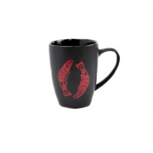 loveditinalaska.com Salmon Totemic Mug