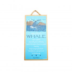 loveitinalaska.com | Advice from A Whale Plaque