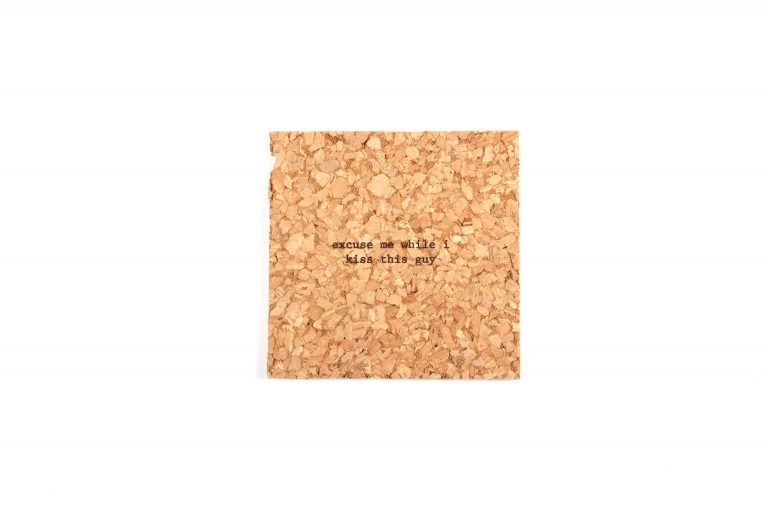 Bright Beam Goods Mistaken Lyrics Single Coaster-Excuse Me