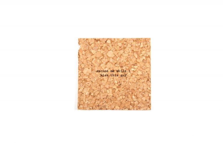 Bright Beam Goods Mistaken Lyrics Single Coaster-Excuse Me