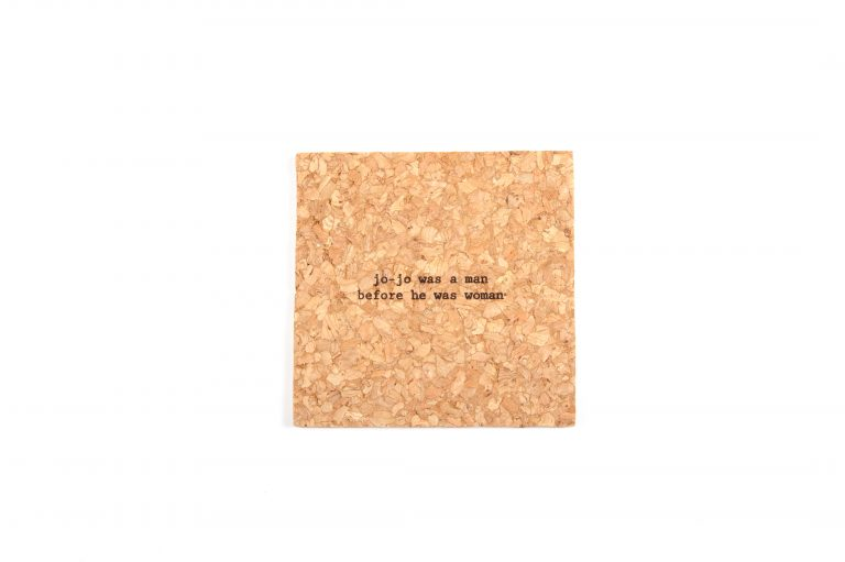 Bright Beam Goods Mistaken Lyrics Single Coaster-Jo Jo