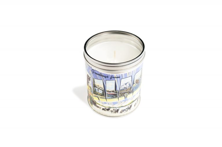 Greetings from Alaska Candle Tin