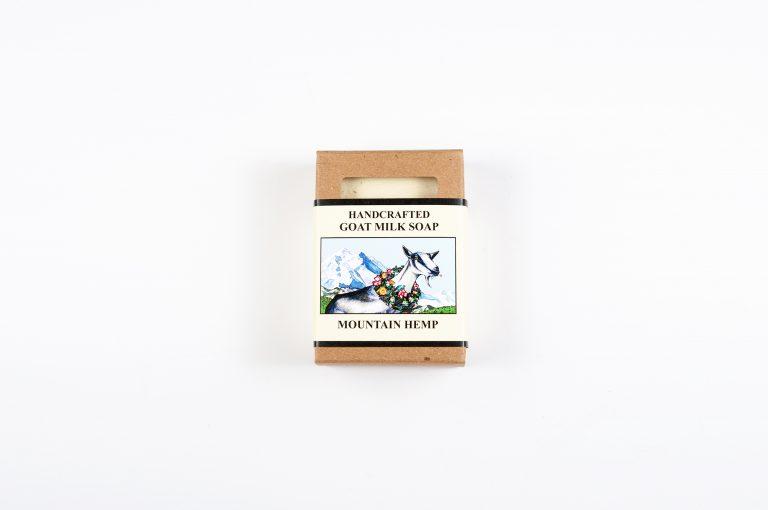 Silverbear Sundries Goat Milk Soap Mountain Hemp