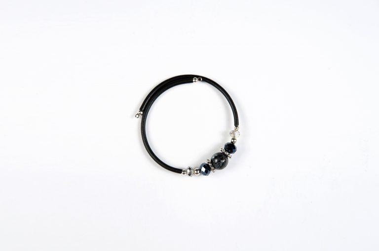 Drops of Alaska Memory Bracelet-Black