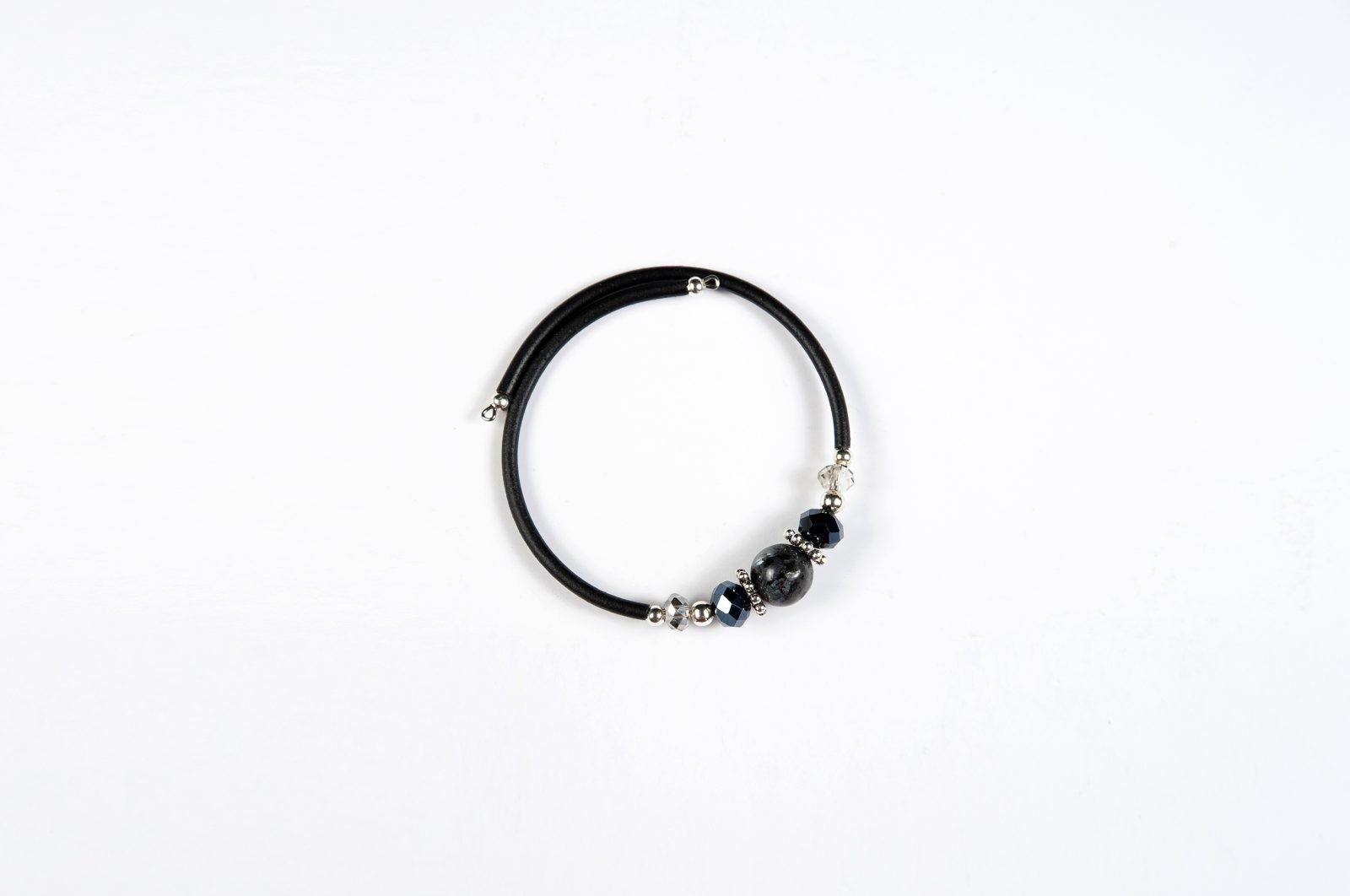 Drops of Alaska Memory Bracelet-Black