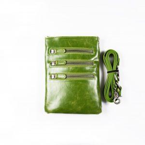 Shiraleah Harper Vegan Leather Crossbody-Green