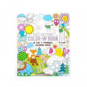 Cozy Critters Color-In Book