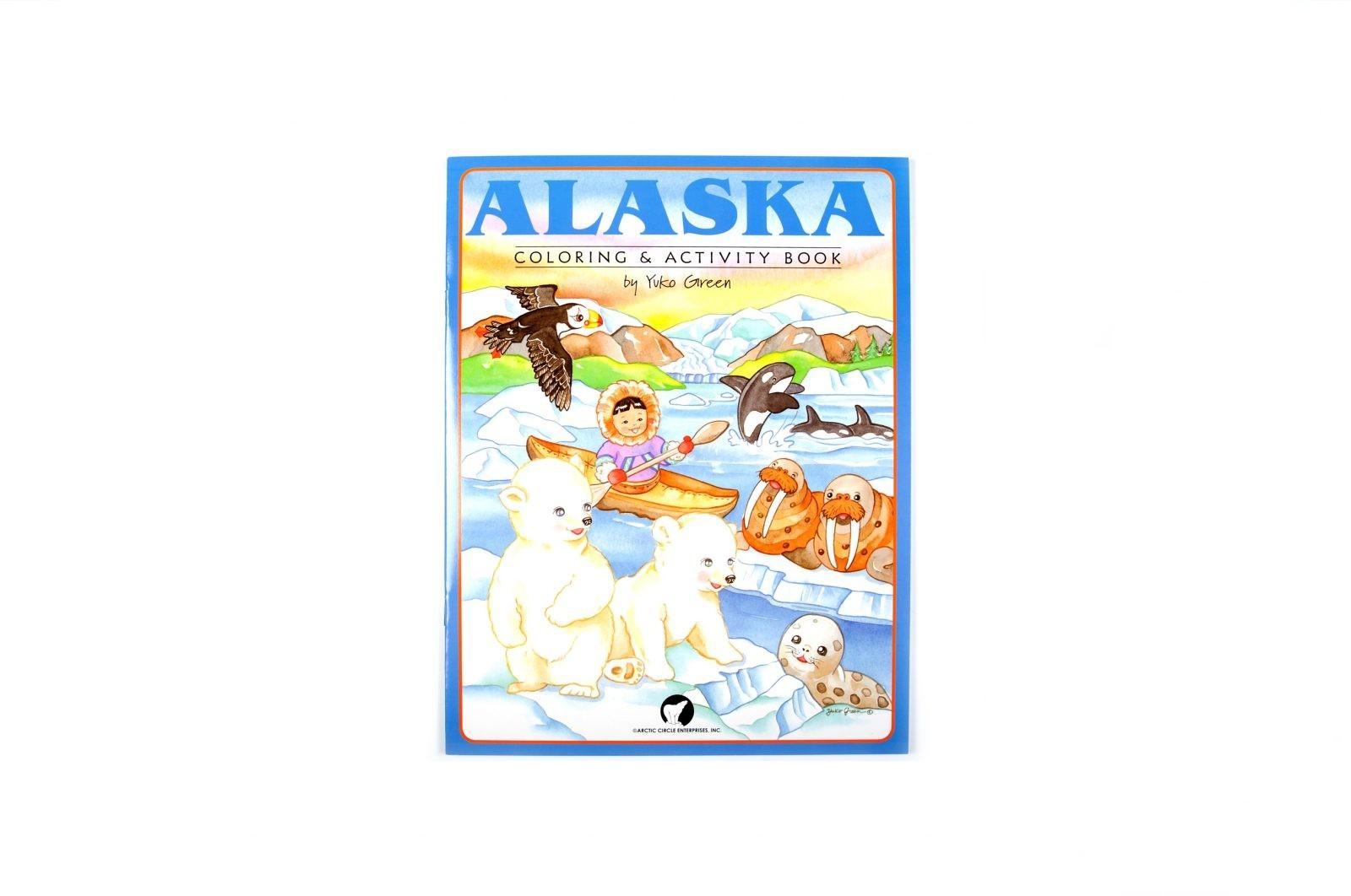 loveditinalaska.com | Alaska Coloring and Activity Book