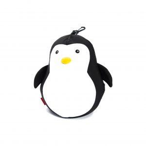 Kikkerland Zip Flip Penguin Bear Head Rest