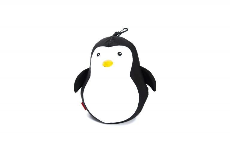 Kikkerland Zip Flip Penguin Bear Head Rest