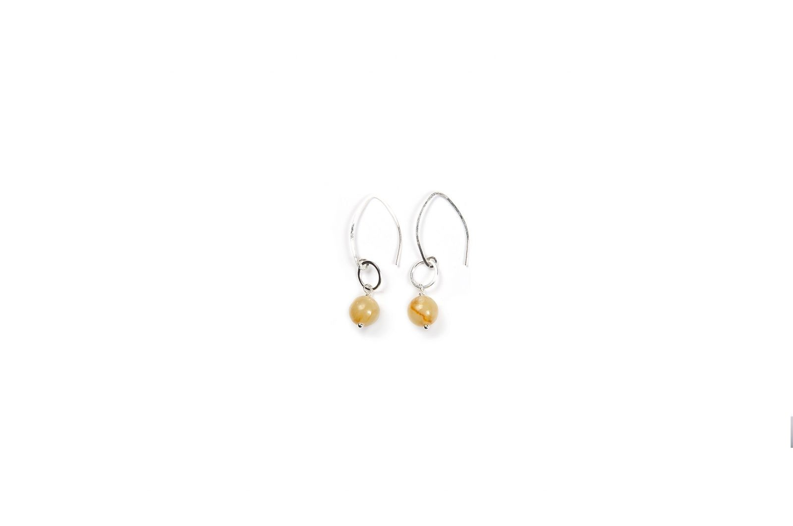 beaded company products img earrings gold north main rhombus white clothing