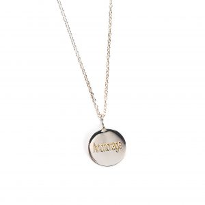 Samantha Faye Anchorage Coordinates SS Pendant Necklace
