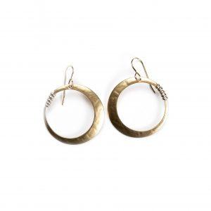 Marjorie Baer Mixed Metal Handcrafted Earrings