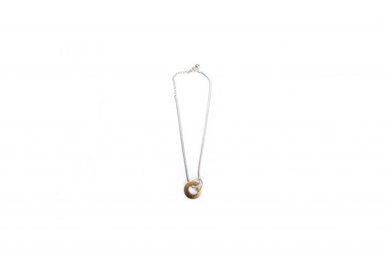 Marjorie Baer Mixed Metal Handcrafted Necklace