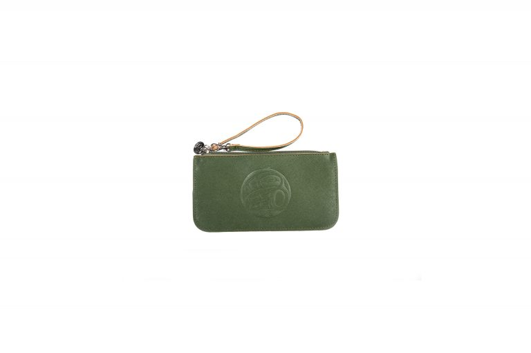 Native Northwest Moonlight Wristlet-Forest Green