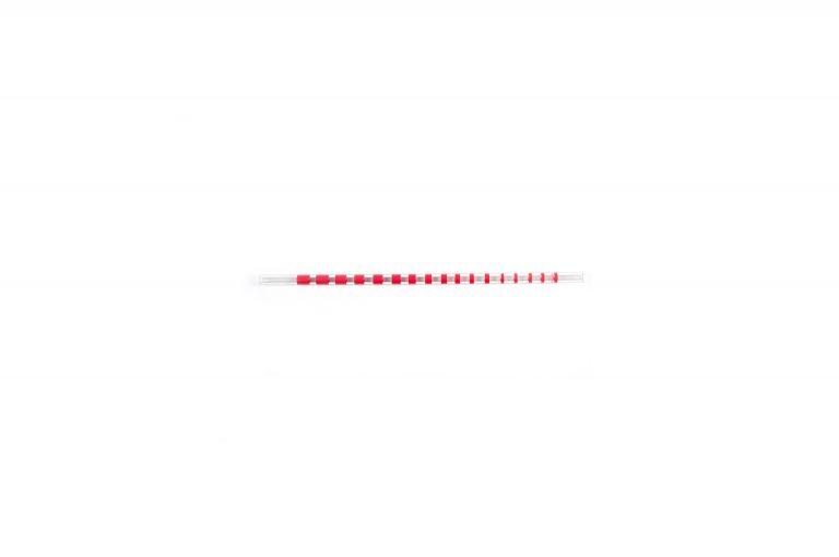 Plastic Straw-Red Stripe