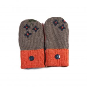 loveditinalaska.com | Always Stitchen Handmade Mittens-Orange Brown