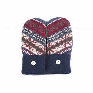 loveditinalaska.com | Always Stitchen Handmade Mittens-Blue Red