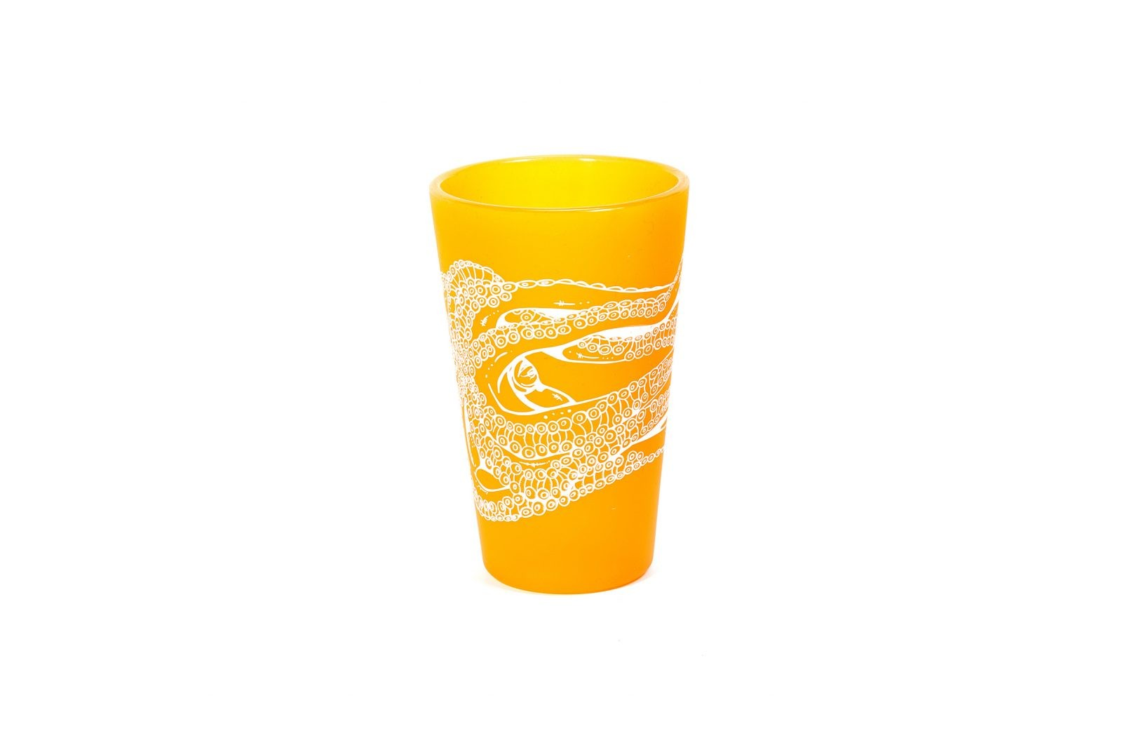 Octopus Ink Tumbler-Orange