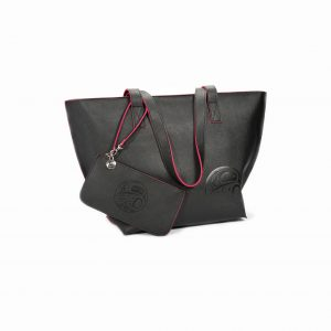 Native Northwest Moonlight Tote Bag Set-Black